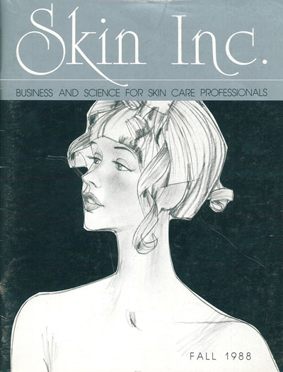 The first issue of Skin Inc. magazine debuted in Fall of 1988.
