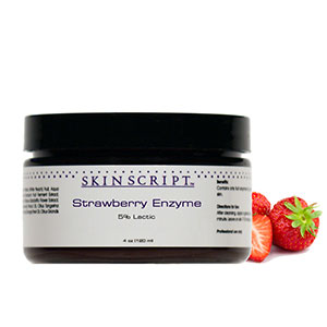 Skin Script Skin Care's Strawberry Enzyme