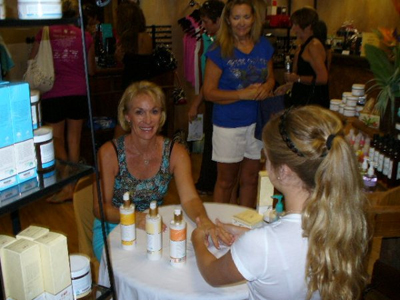 Spa tasting event at The Lamar