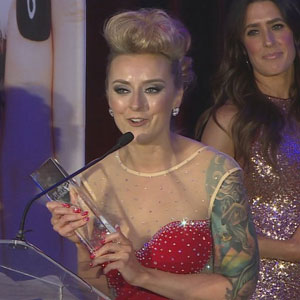 Esthetics and Makeup Achievement Awarded at Third Skin Games