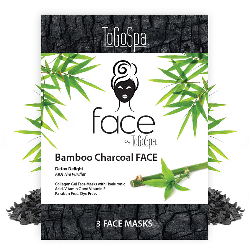 ToGoSpa's Bamboo Charcoal Face Mask