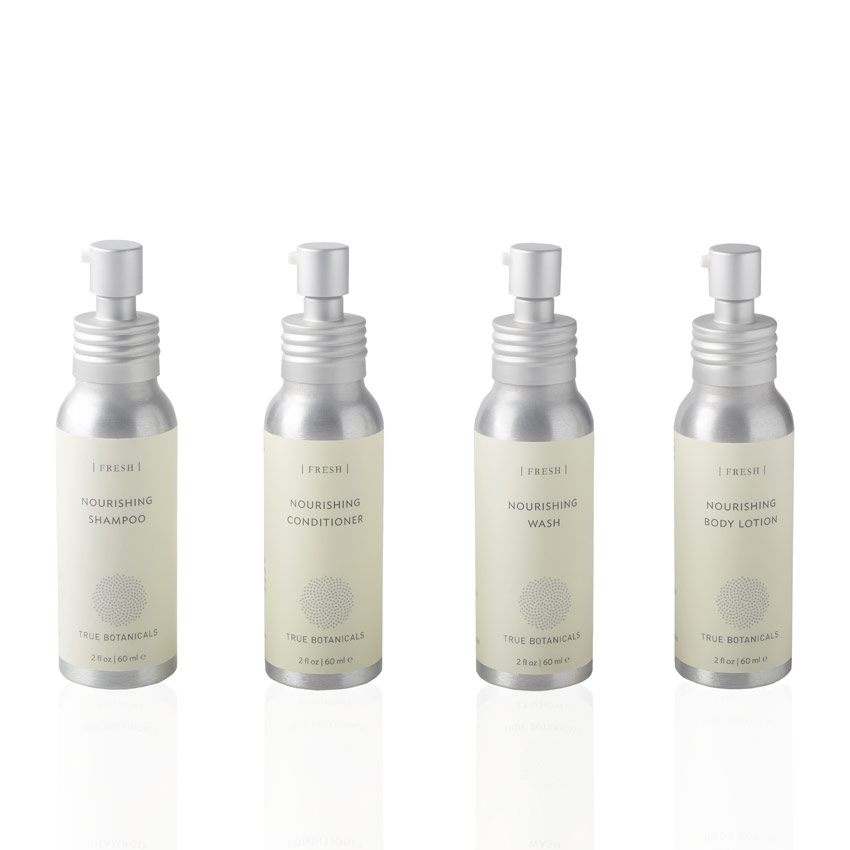 True Botanicals' Travel Size Fresh Hair and Body Collection