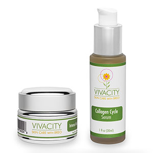 Vivacity Skin Care with BREO's Collagen Cycle Serum