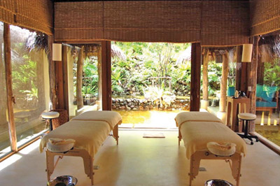 Six Senses Hideaway treatment room