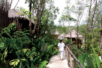 Six Senses Hideaway environment