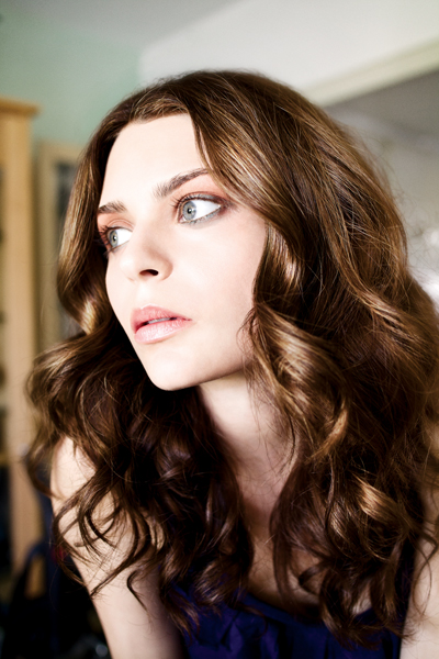 <p>Clean, barely-there complexion makeup and colorful smoky eyes are on trend this season.