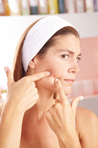 Targeted treatments for women with adult acne.