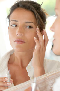 Young women consider using anti-aging products