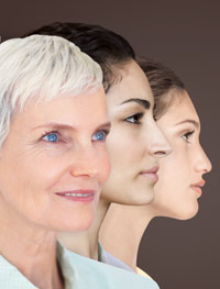 professional skin care clients of all ages