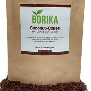 Borika Body's Coconut Coffee Body Scrub