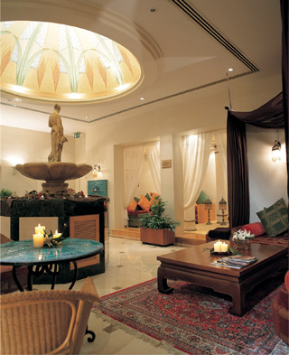 Interior of Cleopatra Spa