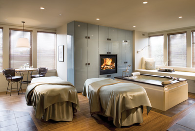 The Couple's spa Suite