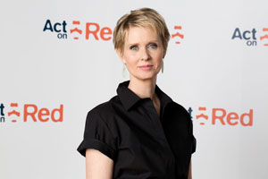 """Sex and the City"" actress Cynthia Nixon"