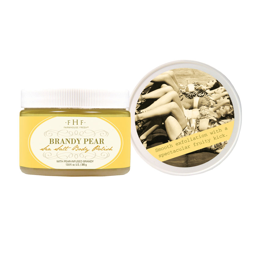 Brandy Pear Sea Salt Body Polish by FarmHouse Fresh