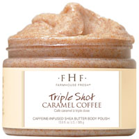 FarmHouse Fresh Triple Shot Caramel Coffee Sugar Scrub