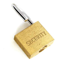 spa security padlock