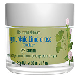 ilike organic skin care's Hyaluronic Time Erase Complex Eye Cream