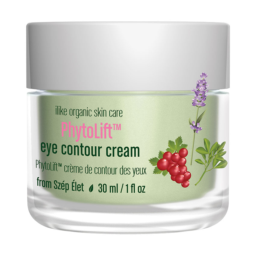 ilike organic skin care's PhytoLift eye contour cream