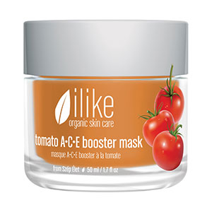 Ilike Organic Skin Care's Tomato A-C-E Booster Mask