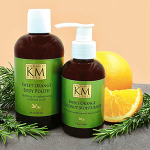 CND Scentsations Clementine & Mistletoe Hand & Body Lotion