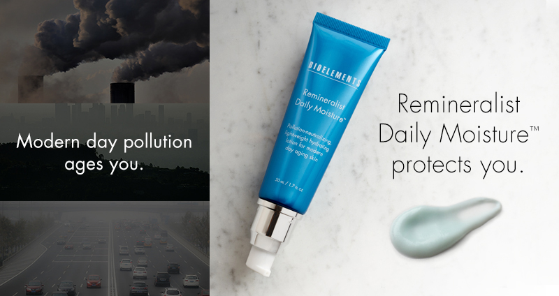 Pollution and how it affects your skin