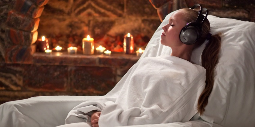 Music in a spa