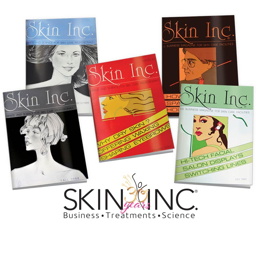 Skin Inc. Anniversary Covers
