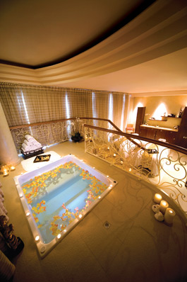 The Couples Suite at Raffles in Dubai