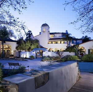 A spa in California