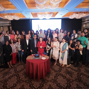 Lydia Sarfati Presents at Professional Beauty Mumbai