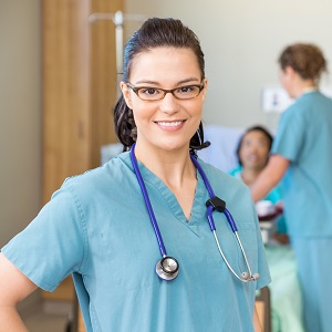 Nurse working