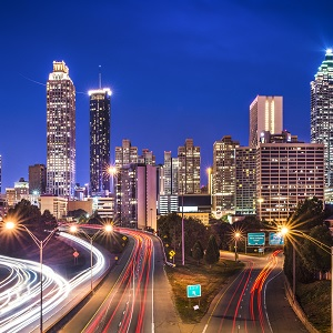 A view of downtown Atlanta