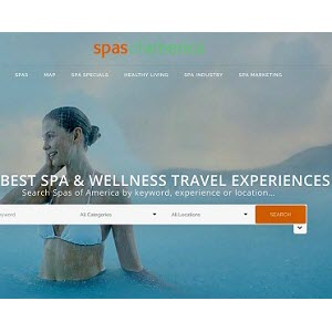 Spas of America Relaunches Website