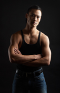 strong asian male