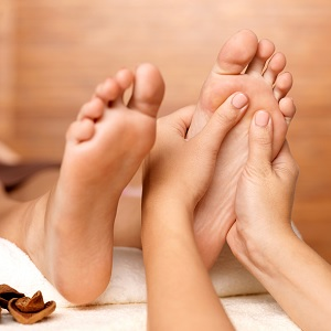 A foot treatment