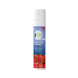 Ilike Organic Skin Care's Tomato Face & Body Moisturizer for Exposed Skin