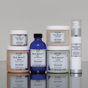 DermAware Bio-Targeted Skin Cares True Beauty Professional Line