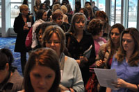 Face & Body 2011 crowd
